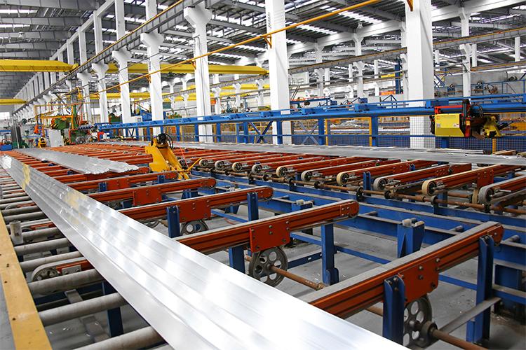 Profilés d'extrusion en aluminium pour l'extrusion